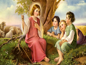 The-childhood-of-Jesus-Christ-Wallpaper-7466